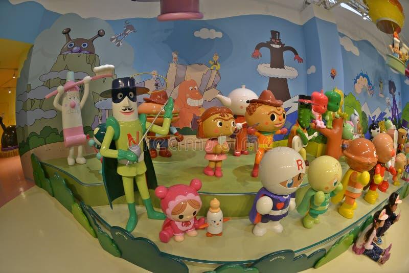 Anpanman muzeum Yokohama zdjęcie stock