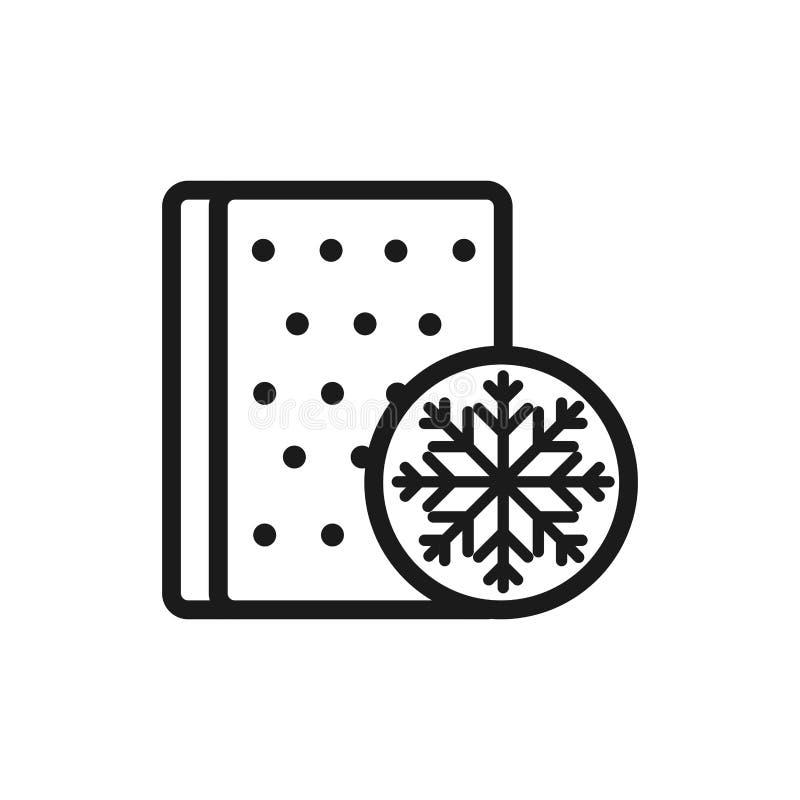 Anpassning av matrisväder till bekvämt mjukt textilmönster stock illustrationer