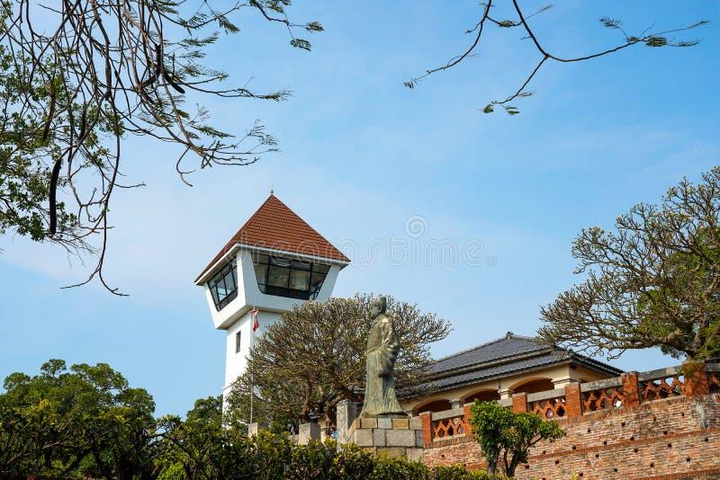 Anping gammalt fort i Tainan, Taiwan Det Anping fortet byggs p? fundamenten av det holl?ndska f?stet som namnges Fort Zeelandia royaltyfria bilder
