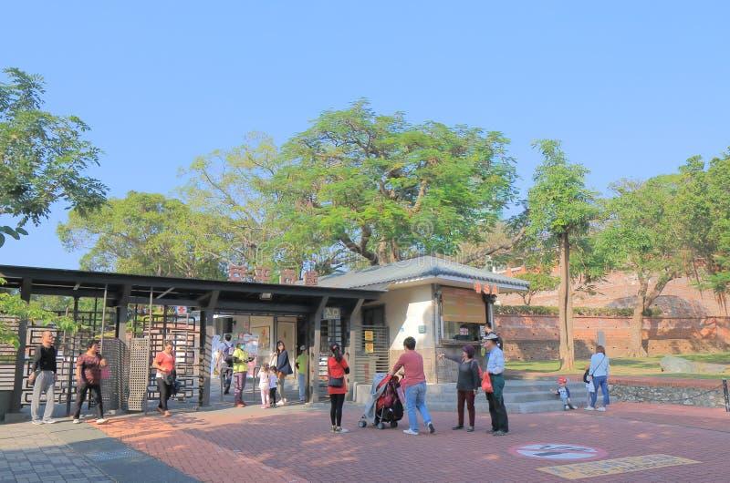 Anping gammalt fort Tainan Taiwan royaltyfri bild