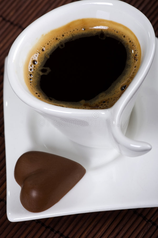 ans巧克力咖啡 免版税图库摄影