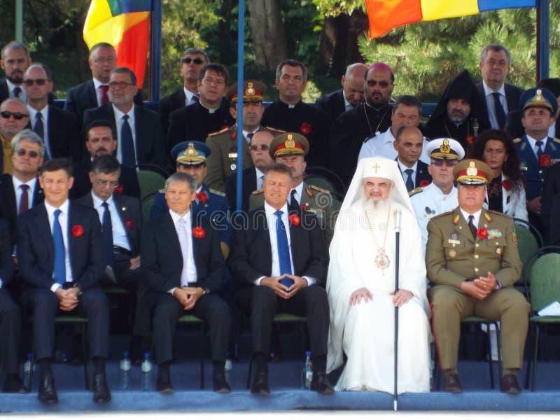 100 ans après la première guerre mondiale en Europe, commémoration en Europe, héros roumains image libre de droits