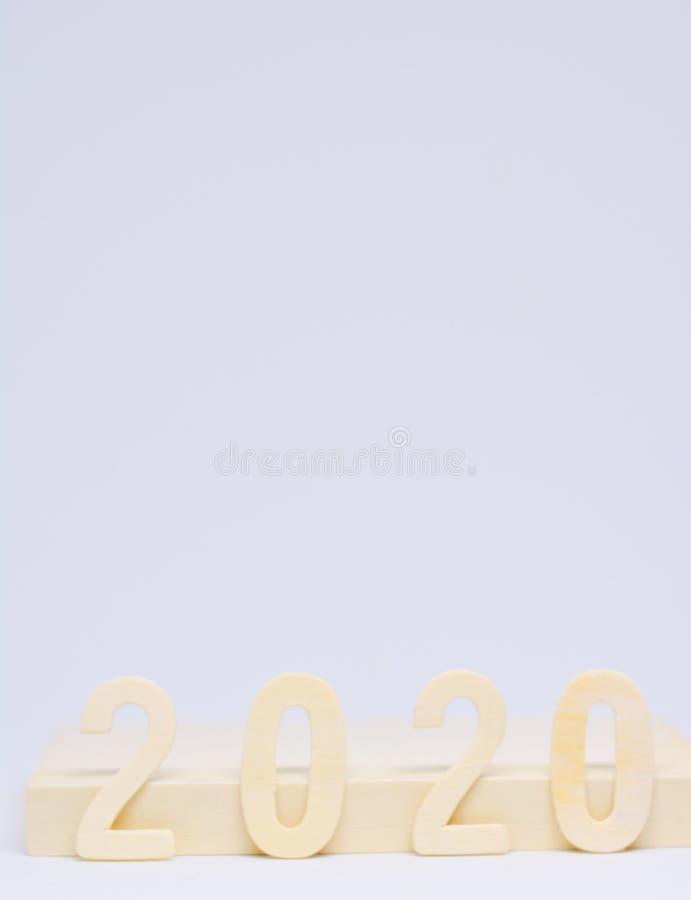 2020 ans de la verticale d'avenir photo stock