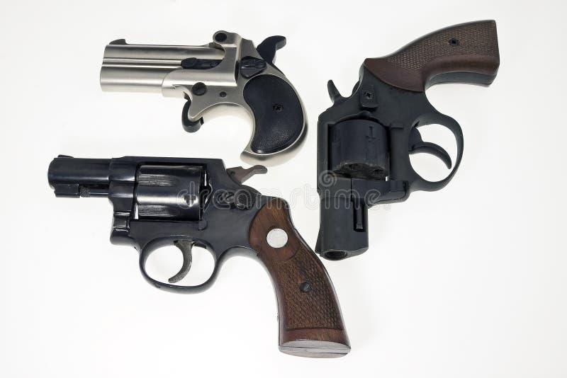 Ansammlung Gewehren stockbilder