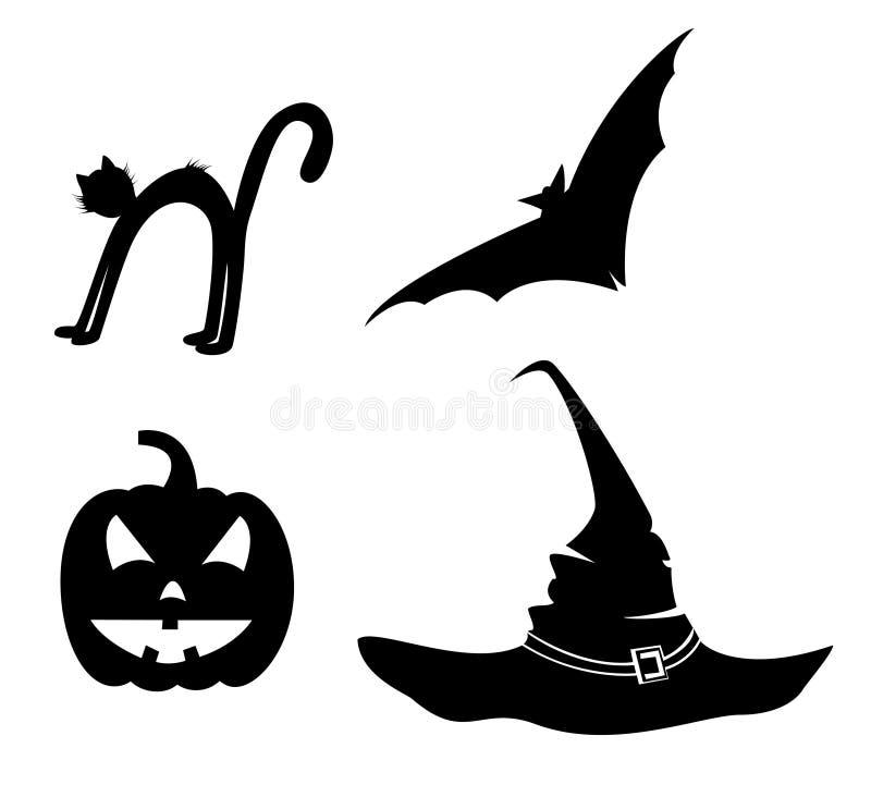 Ansammlung von s für Halloween2 stockbild