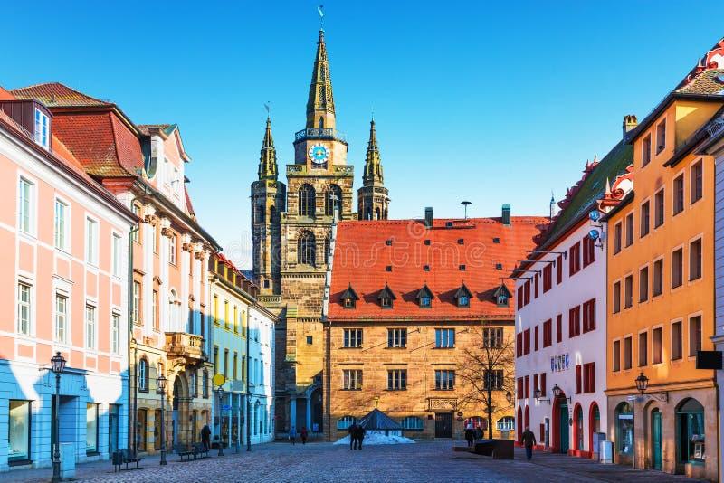 Ansbach, Alemania imagenes de archivo