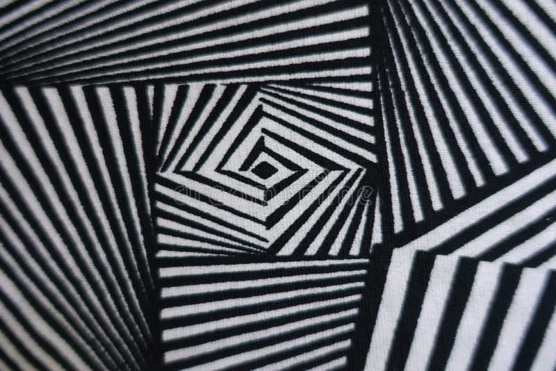 Anschlagdruck auf Polyester-Gewebe lizenzfreie stockbilder