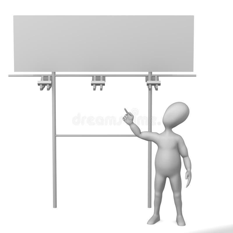 Anschlagtafel vektor abbildung