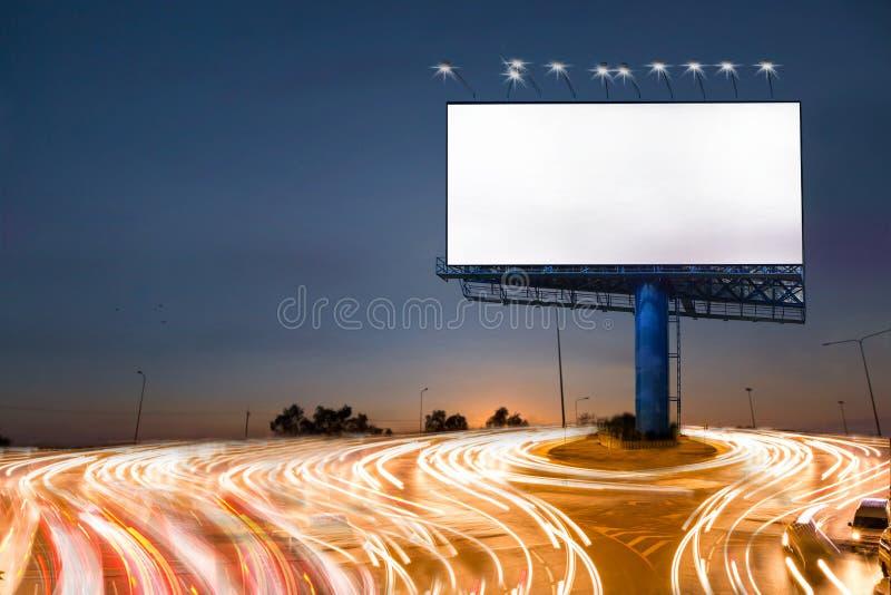 Anschlagtafel mit Beleuchtung lizenzfreie stockbilder