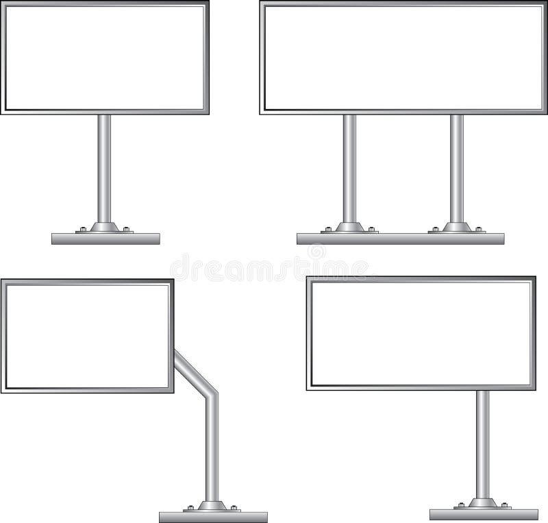Anschlagtafel, Vektor lizenzfreie abbildung