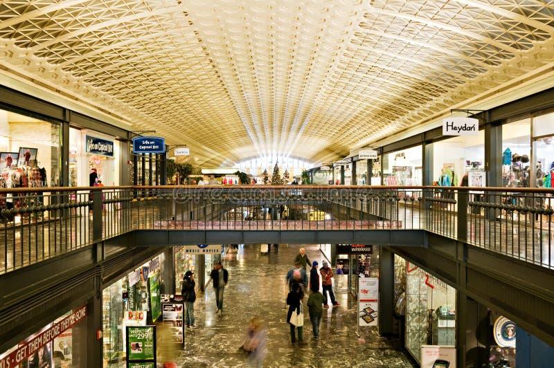 Anschluss-Bahnstation in Washington, Gleichstrom stockfoto