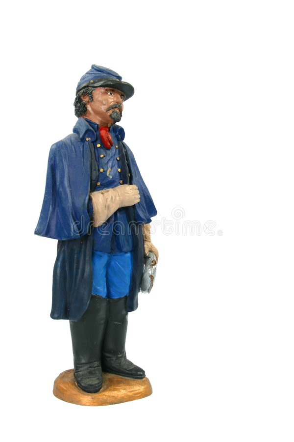 Anschluss-Soldat des amerikanischen Bürgerkrieges stockfotos