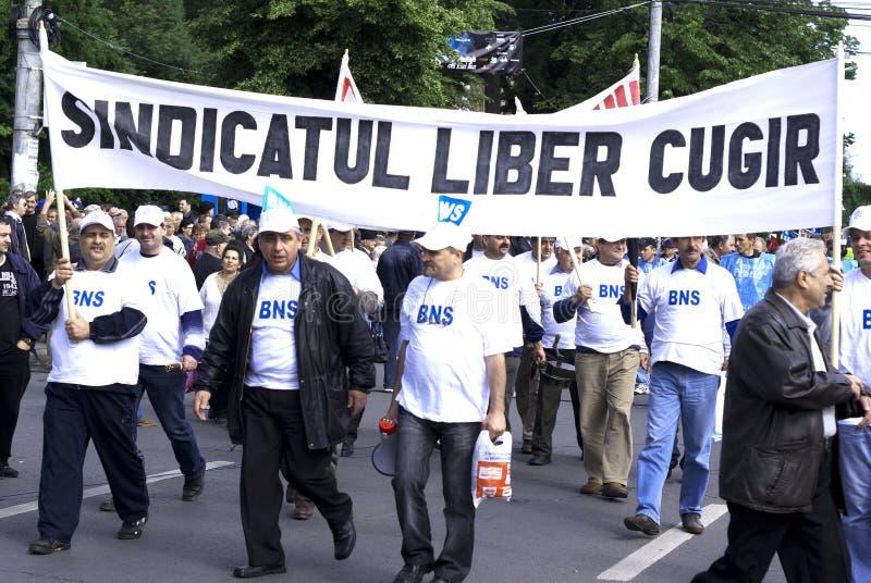 Anschlussprotest stockfotos