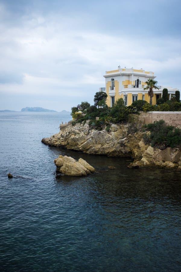 Anse De Maldorme, Marseille obraz stock