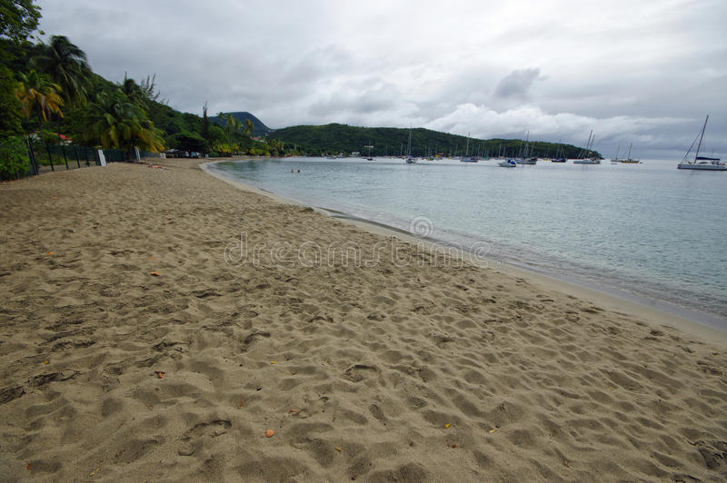 Anse l ` Ane - Martinique - Caraïbisch eiland stock foto's