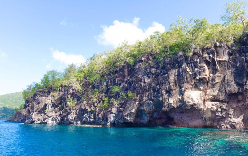 Anse Mitan - Fort-de-France - Martinica - isla tropical del mar del Caribe fotografía de archivo