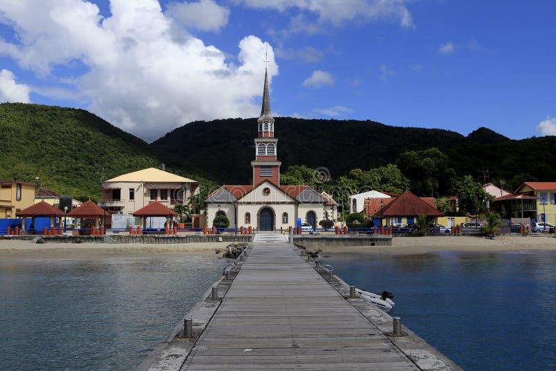 Anses d'arletby, Martinique, västra indies royaltyfria bilder