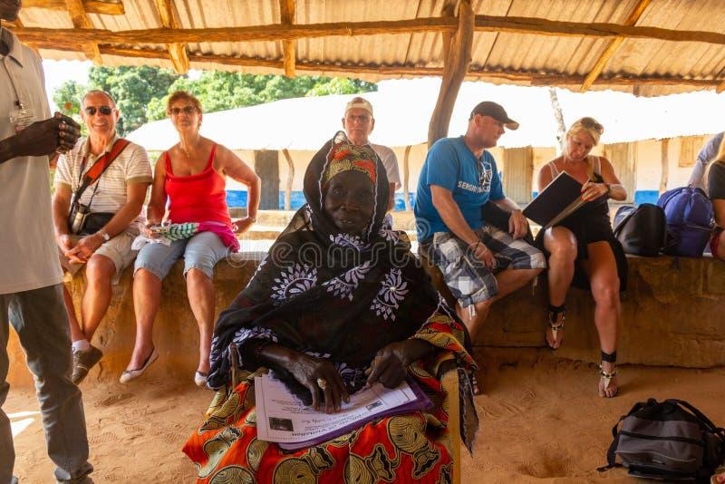 Ansestor de Kunte Kinte photo libre de droits