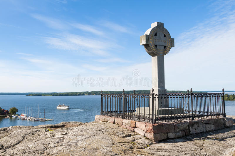 Ansgars十字架比尔卡 免版税库存照片