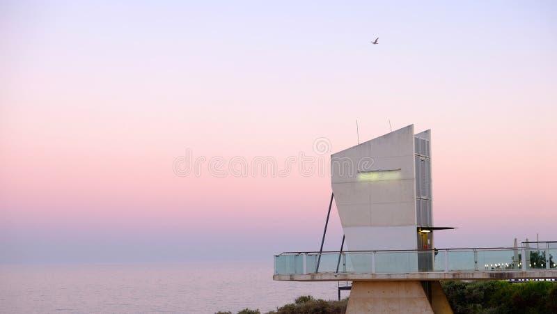 Ansicht über Albufeira, Algarve, Portugal stockfotos