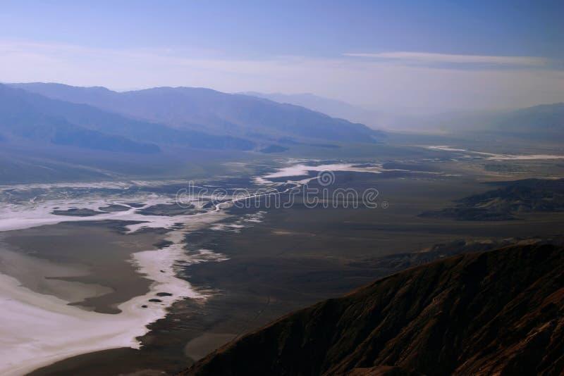 Ansicht über Death Valley stockbilder