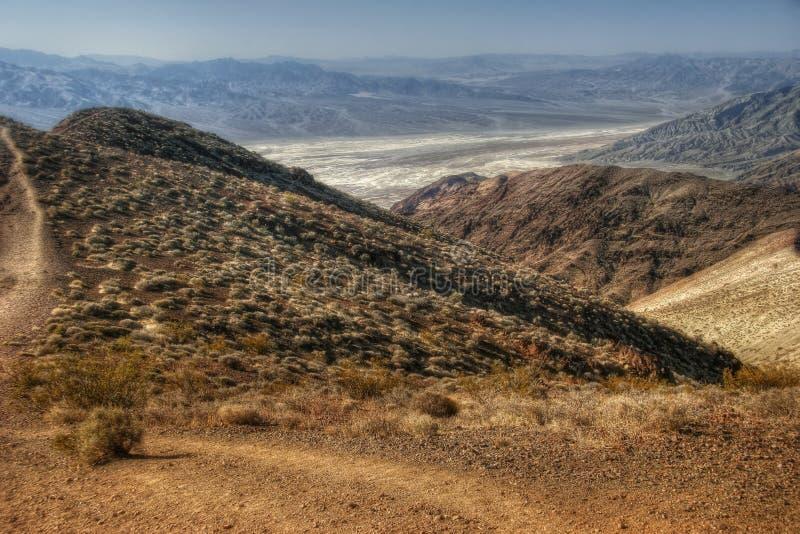Ansicht über Death Valley lizenzfreie stockbilder