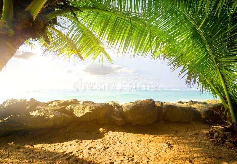 Ansicht über den Ozean lizenzfreie stockfotografie