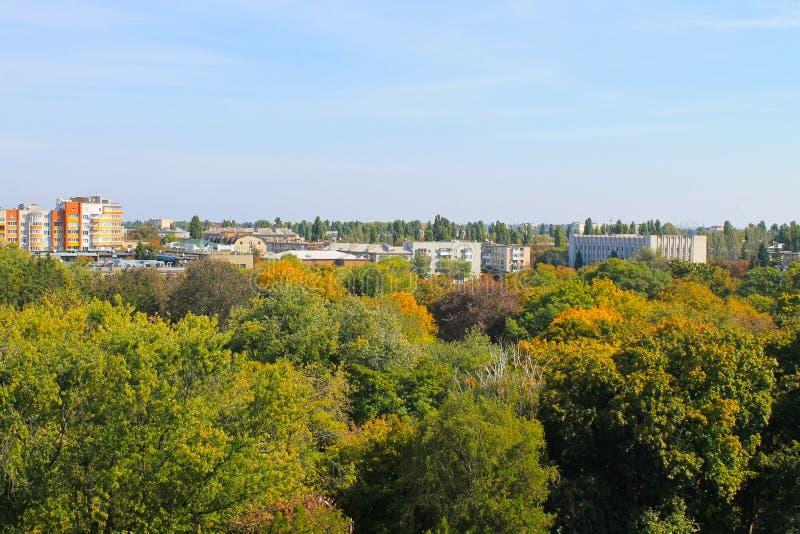 Ansicht über die Stadt Kremenchug lizenzfreie stockfotos