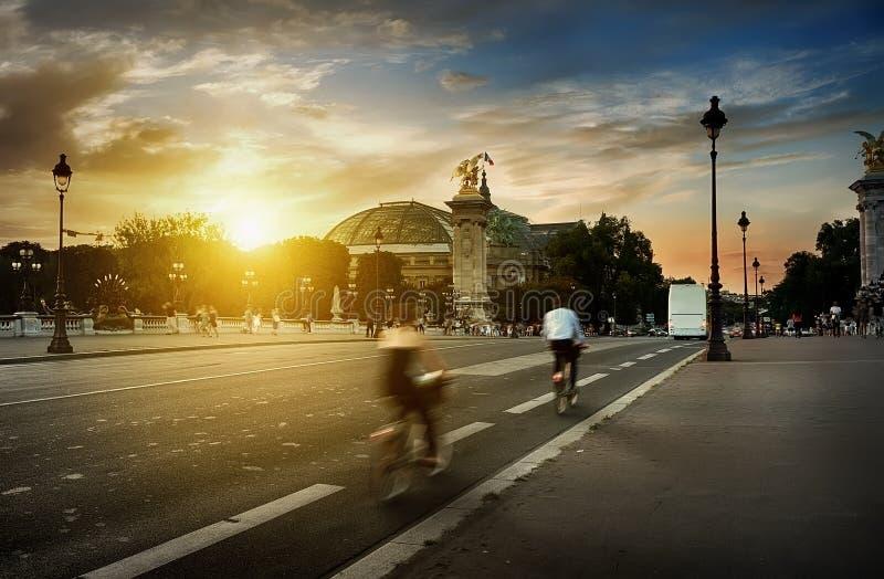 Ansicht über großartiges Palais stockfoto