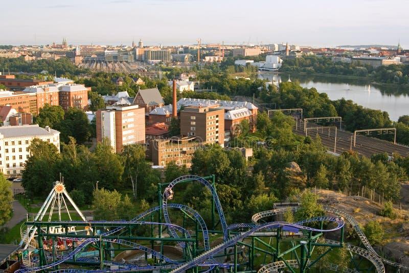 Ansicht über Helsinki stockfotos