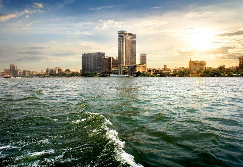 Ansicht über Kairo lizenzfreie stockfotos