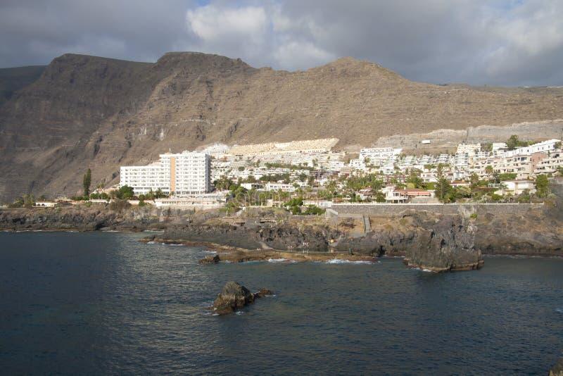 Ansicht über Los Gigantes, Teneriffa stockfoto