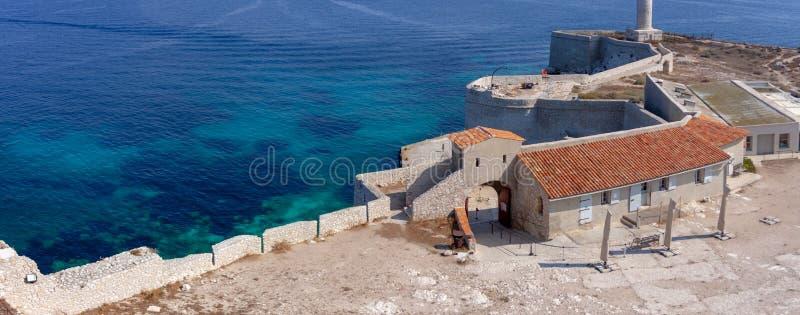 Ansicht über Marseille, Frankreich lizenzfreie stockfotografie