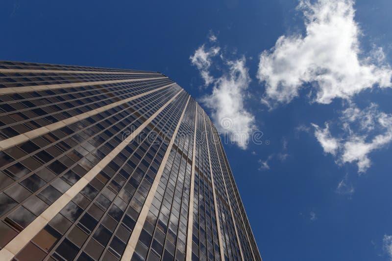 Ansicht über Montparnasse-Wolkenkratzer in Paris lizenzfreies stockfoto