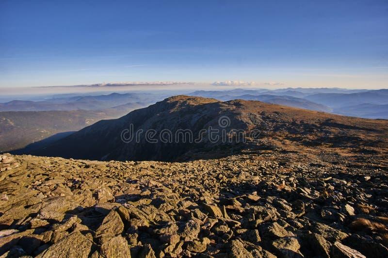 Ansicht am Berg Washington stockfotografie