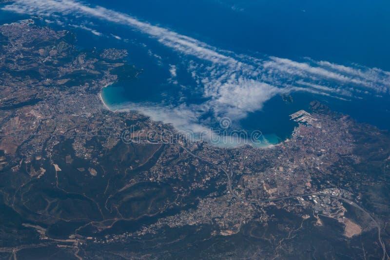 Ansicht der europäischen Stadt lizenzfreies stockbild