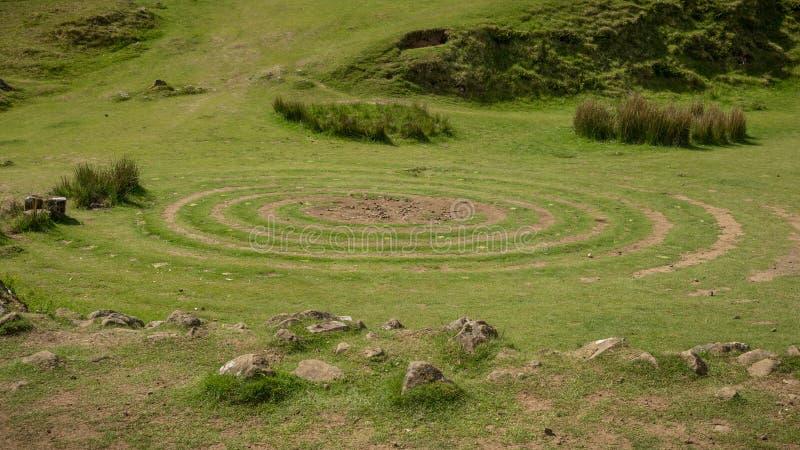 Ansicht der Fee Glenn, auf Insel von Skye, Schottland stockfotografie