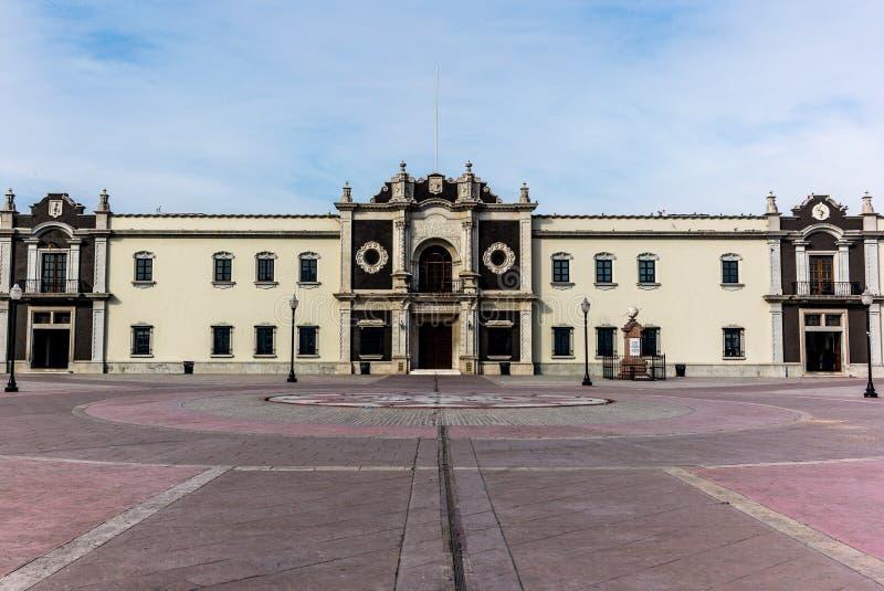 Ansicht der Hochschulmitte in Monterrey lizenzfreie stockfotografie