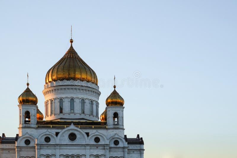 Ansicht der Kathedrale von Christus der Retter stockfotos