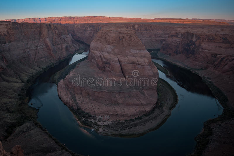 Ansicht der Kehre, Arizona stockfotos