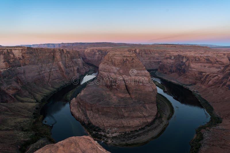Ansicht der Kehre, Arizona lizenzfreies stockfoto