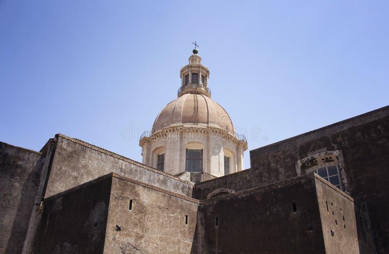 Ansicht der Kirche von St. Nicholas Arena stockfoto