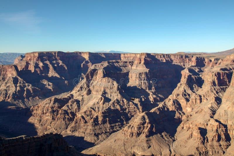 Ansicht der Landschaft in Nationalpark Grand Canyon s in USA lizenzfreies stockfoto
