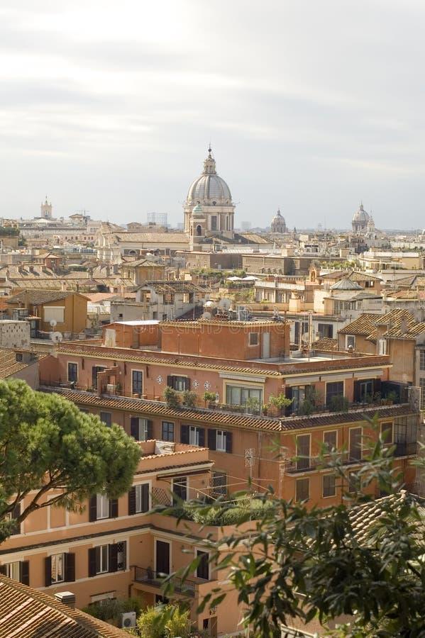 Ansicht der Rom-Stadt lizenzfreies stockfoto