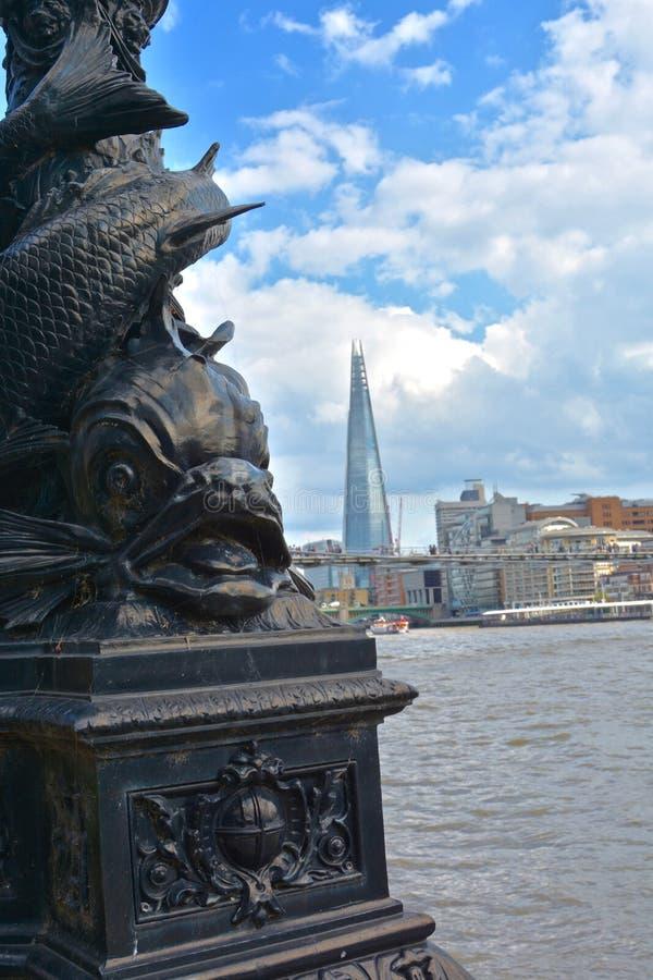 Ansicht der Scherbe in London stockfotografie