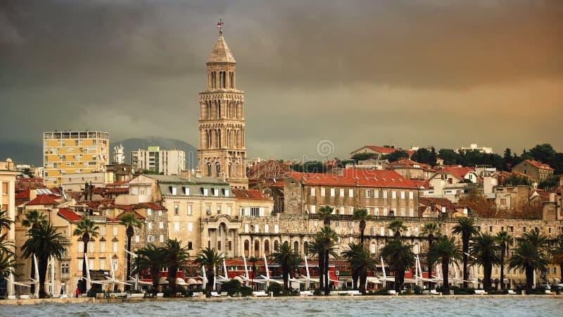 Ansicht der Spalte, Kroatien stockbilder