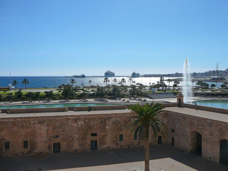 Ansicht der Stadt von Palma De Mallorca lizenzfreie stockfotografie