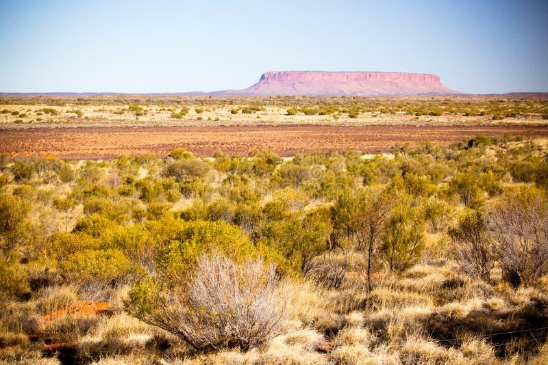 Ansicht des Bergs Connor Australia lizenzfreie stockbilder
