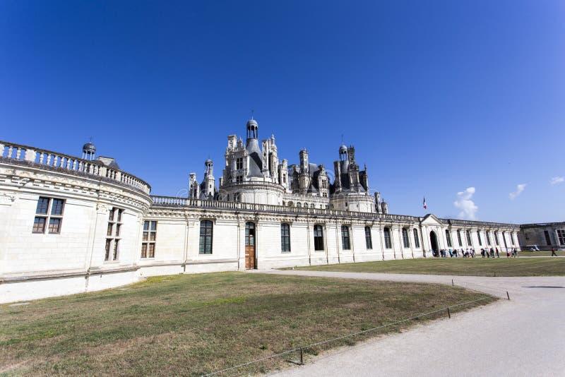 Ansicht des Chambord-Chateaus lizenzfreie stockfotos