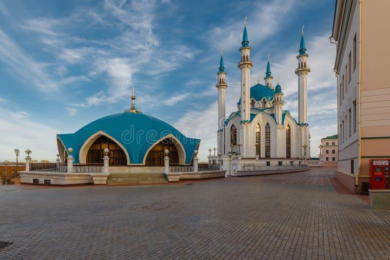 Ansicht des Col.-Sharif Kasan-der Kreml lizenzfreies stockfoto
